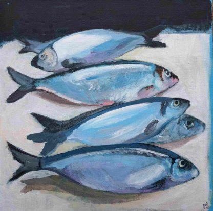 Herring - Painting by Paulina Swietliczko